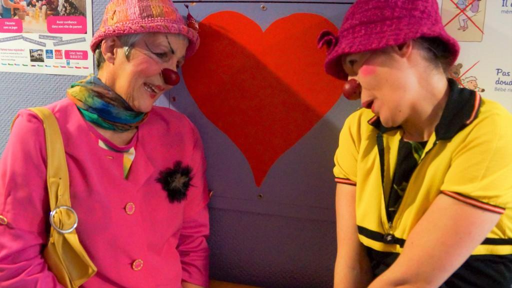 duo de Clowns Z'hôpitaux