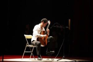 Cyprien, le guitariste