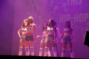 Les danseuses du groupe Lorna