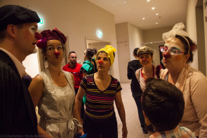 Clowns en groupe